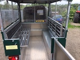 Tip up seats available on ACBT-8R Buggy
