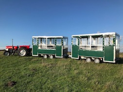 Social Distancing Access Trailer Land Train