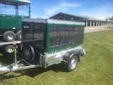 Game Cart trailer - with spare wheel