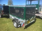 Game Cart trailer - rear of trailer