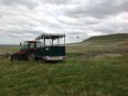 Access Trailer off track in Yorkshire Dales